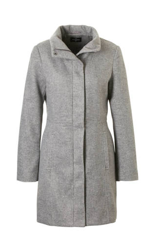 The Outerwear coat met wol