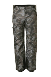 C&A Rodeo skibroek met camouflageprint grijs (heren)