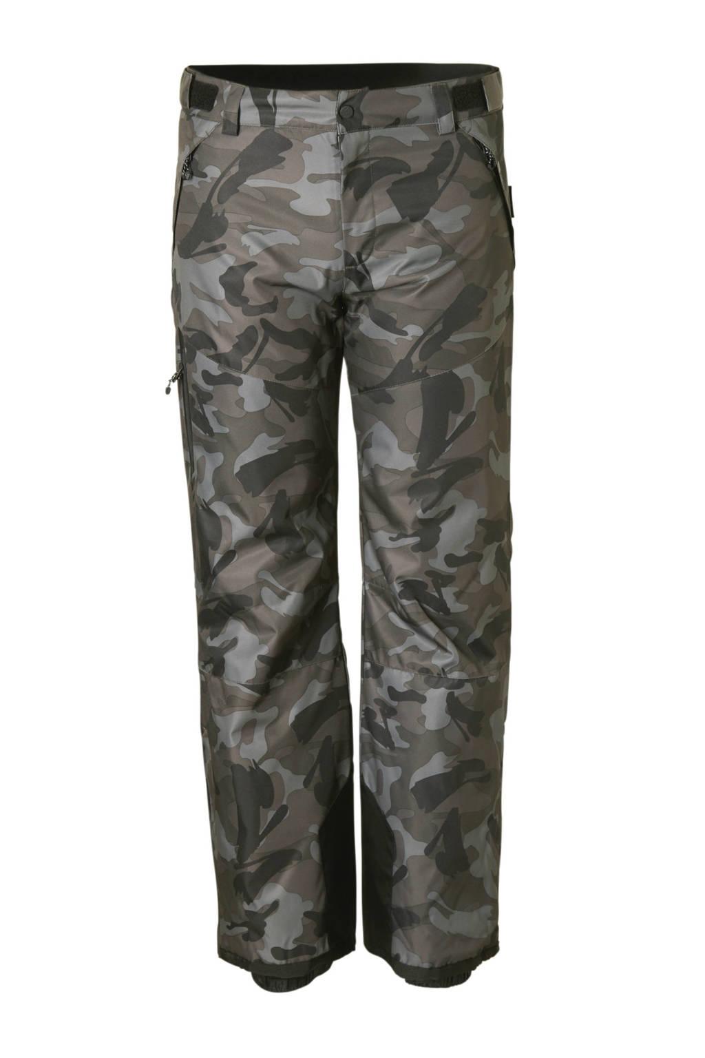 C&A Rodeo skibroek met camouflageprint grijs, Grijs
