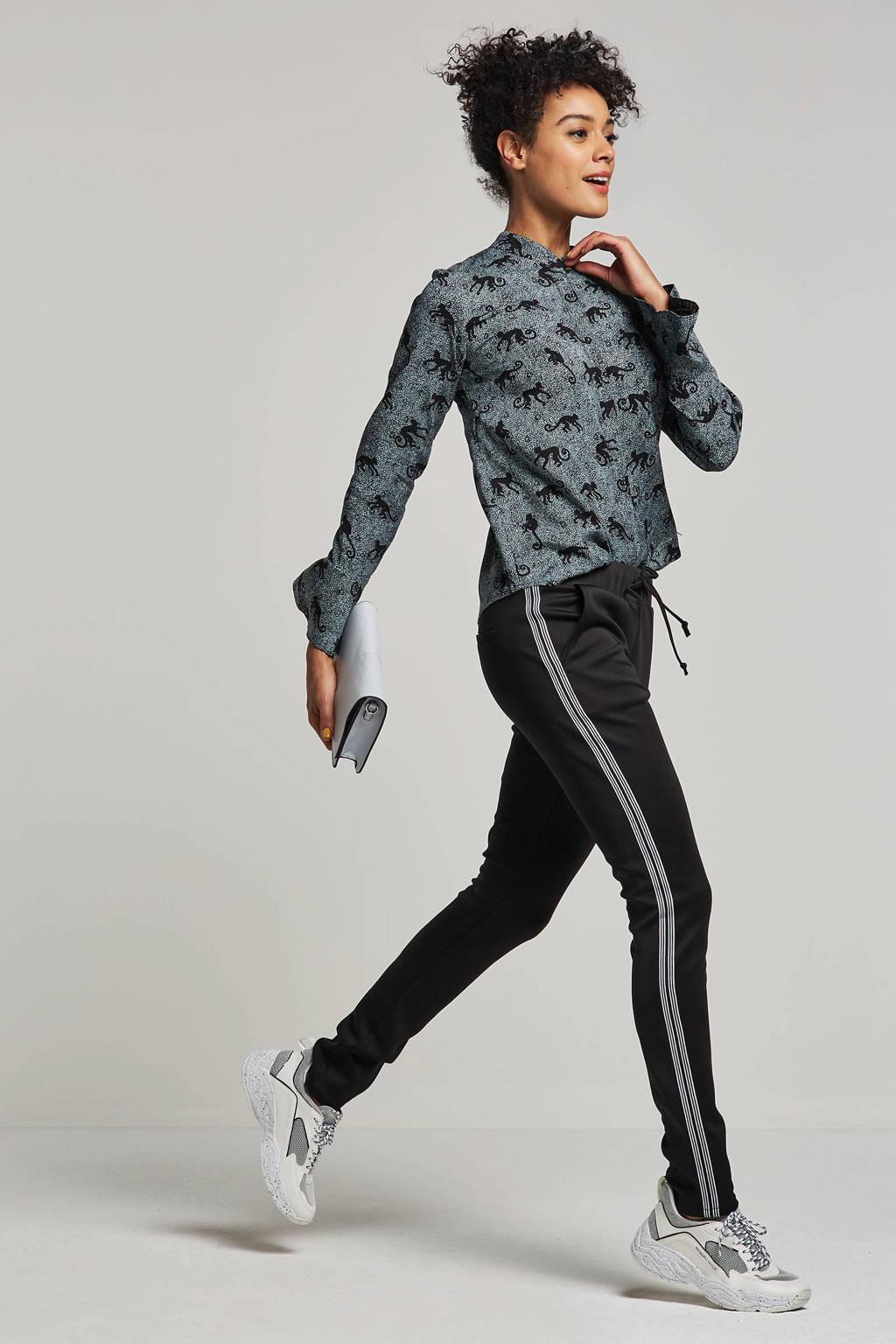 Circle of Trust regular fit sweatpants Robyn, Zwart