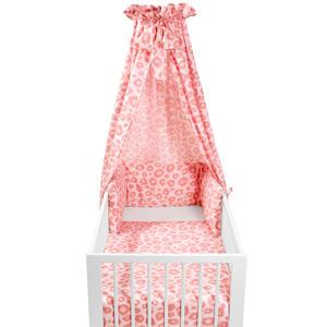 Panter babyset ledikant (4-delig) roze