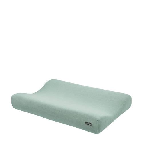 aankleedkussenhoes groen 70x45 cm