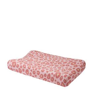 Panter aankleedkussenhoes 70x50 cm roze