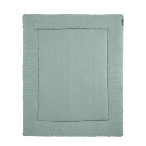 Silverline Knots boxkleed 77x97 cm groen