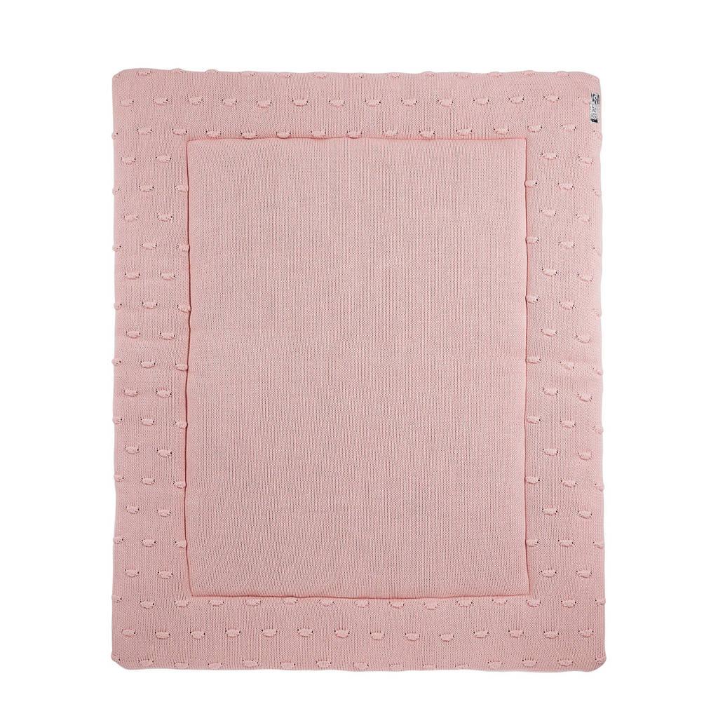 Meyco Silverline Knots boxkleed 77x97 cm roze, Roze