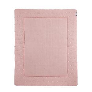 Silverline Knots boxkleed 77x97 cm roze