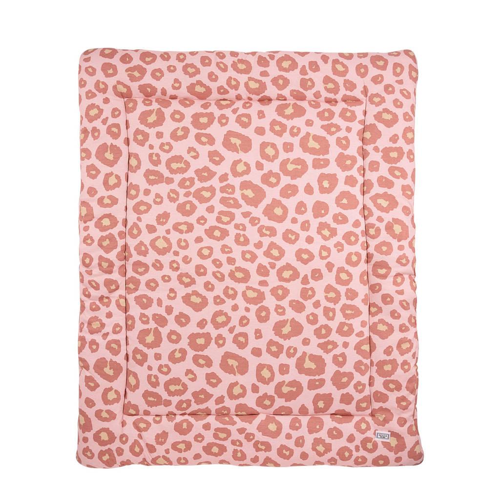 Meyco Panter boxkleed 97x77 cm roze, Roze