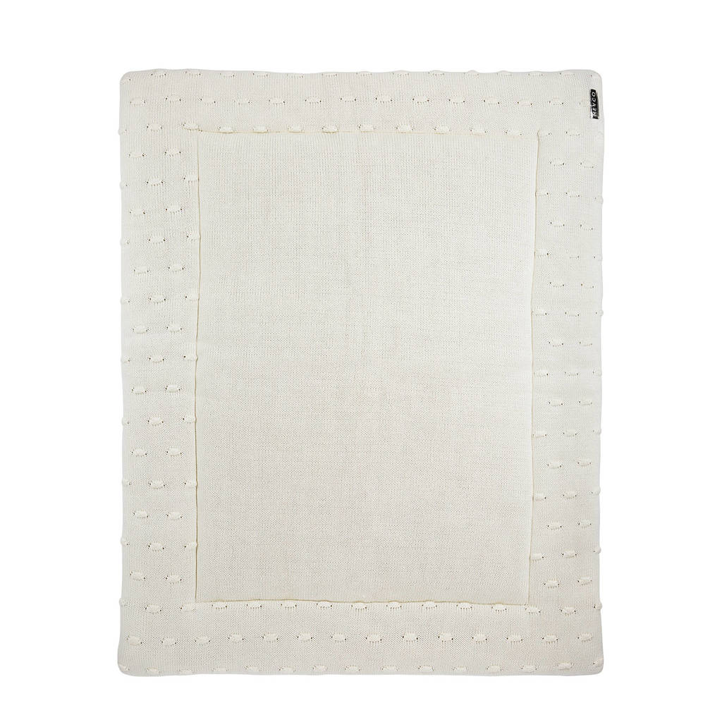 Meyco Silverline Knots boxkleed 77x97 cm offwhite, Offwhite