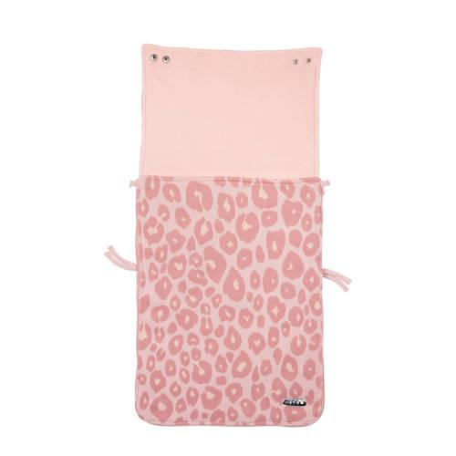 voetenzak groep 0 panter roze