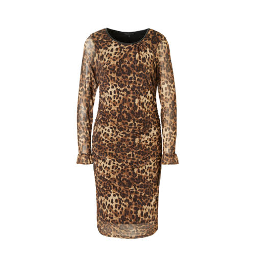 Tramontana jurk met panterprint