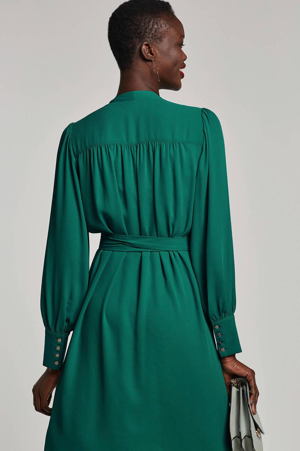 SELECTED FEMME overslag jurk, Groen