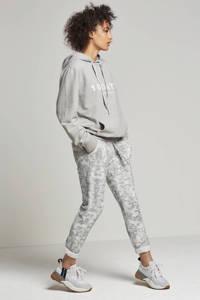10DAYS hoodie met printopdruk, Grijs/wit