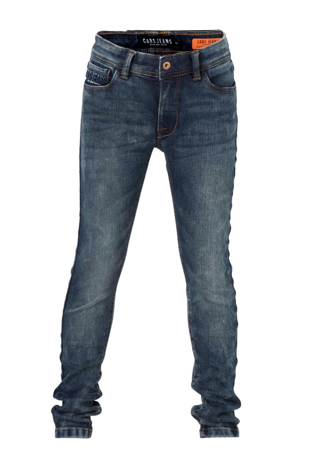 Cars super skinny jeans Iron donkerblauw, Donkerblauw