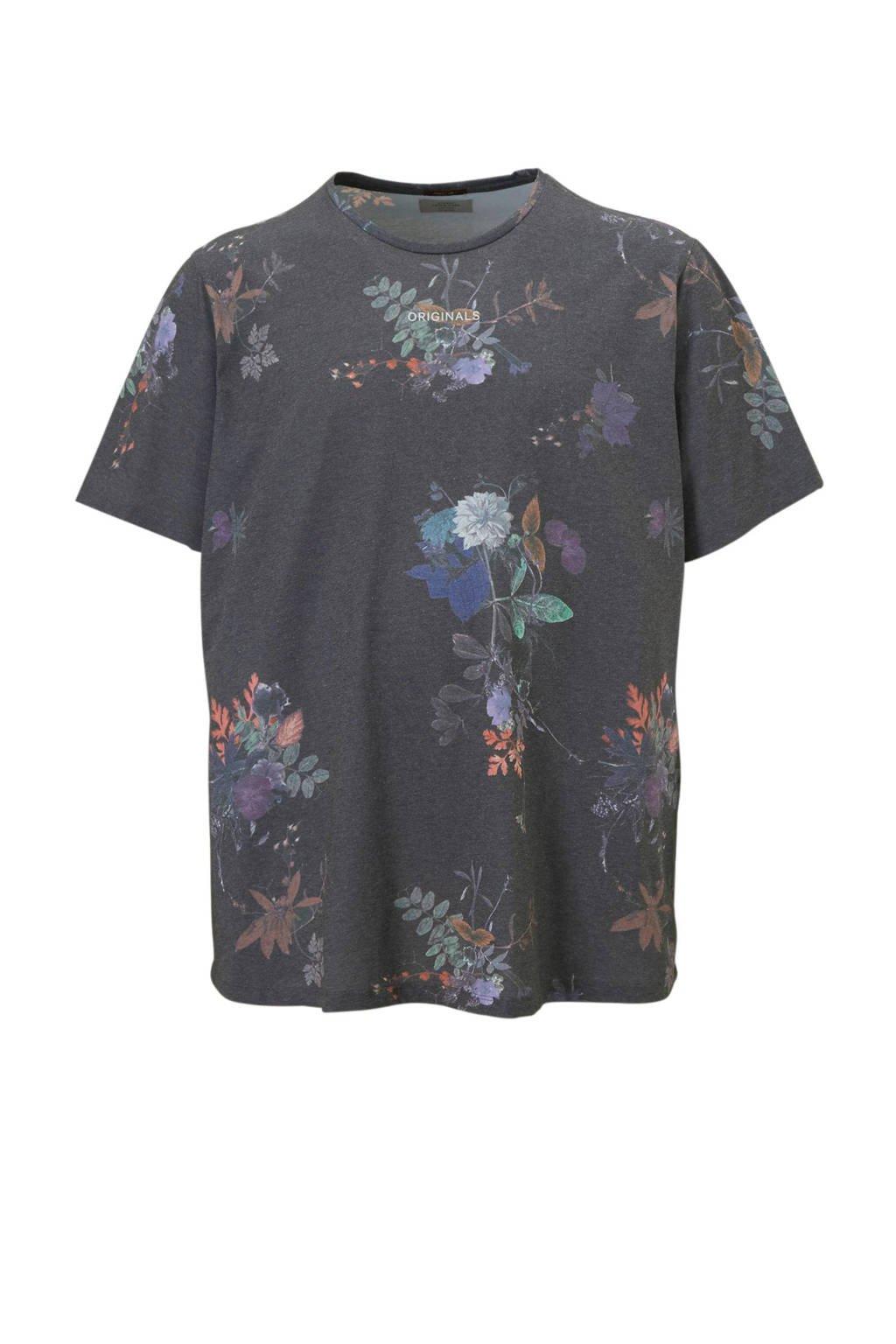 Jack & Jones Originals T-shirt, Grijs