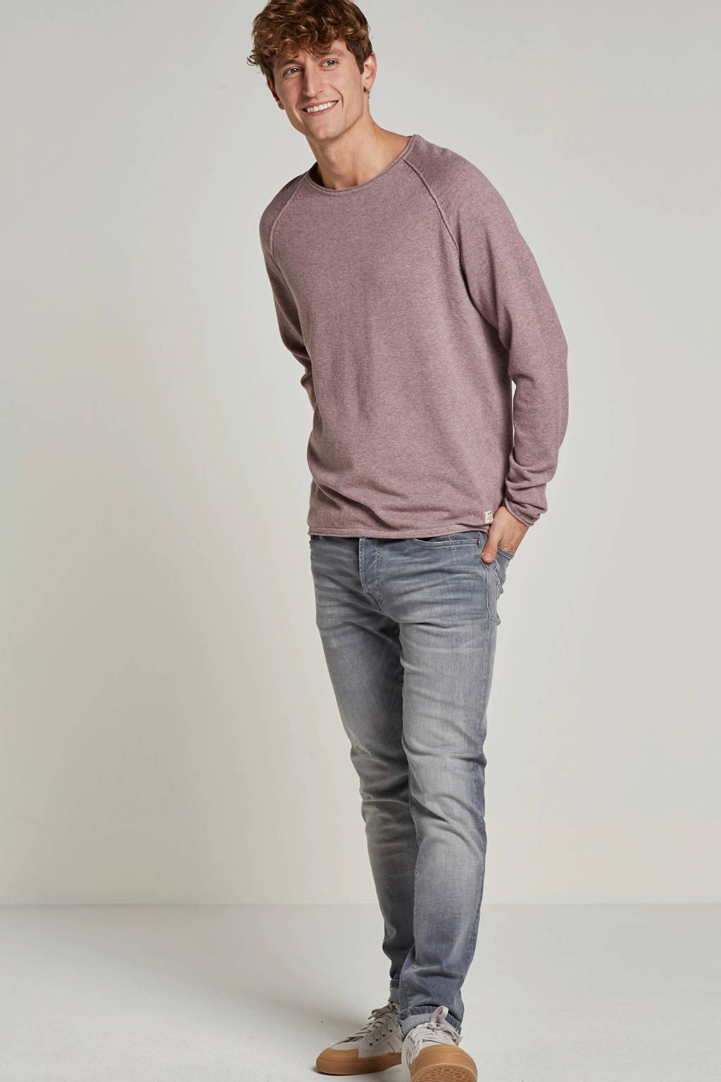 Jack & Jones Essentials trui Union, Oudroze