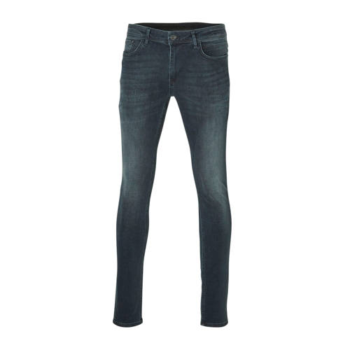Purewhite regular fit jeans donkerblauw
