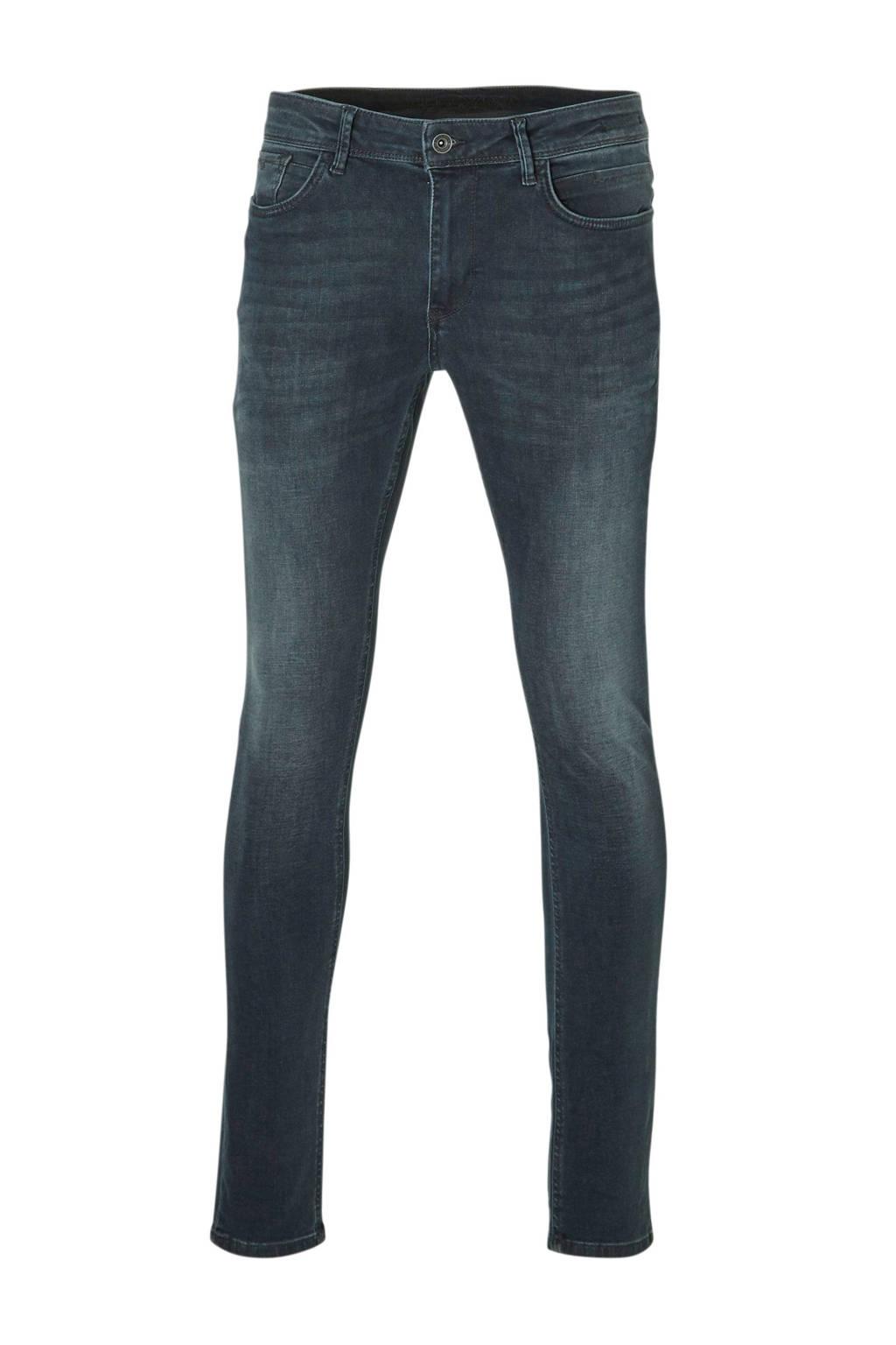 Purewhite regular fit jeans, Donkerblauw