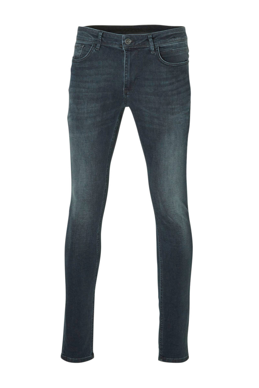 Purewhite regular fit jeans The Jone donkerblauw, Donkerblauw
