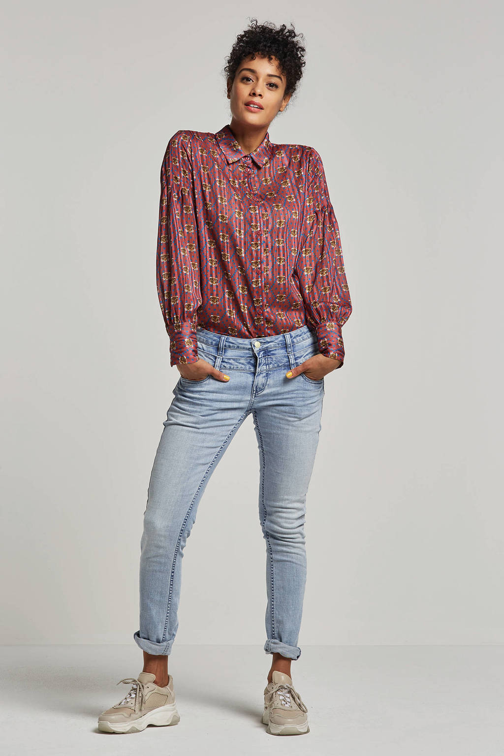 Circle of Trust regular fit jeans D'nimes, Lichtblauw