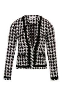 Morgan jasje met ruit zwart (dames)