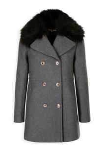Morgan wollen coat grijs (dames)