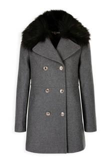 wollen coat grijs