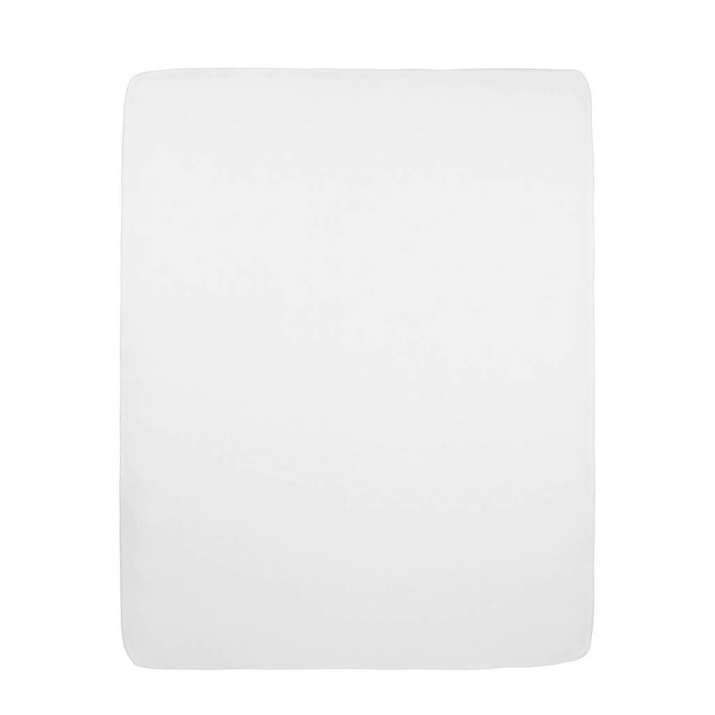 Meyco hoeslaken boxmatras 75x95 cm wit
