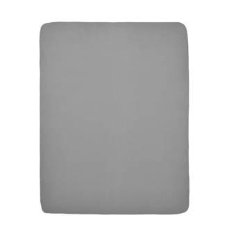 hoeslaken boxmatras grijs 75x95 cm