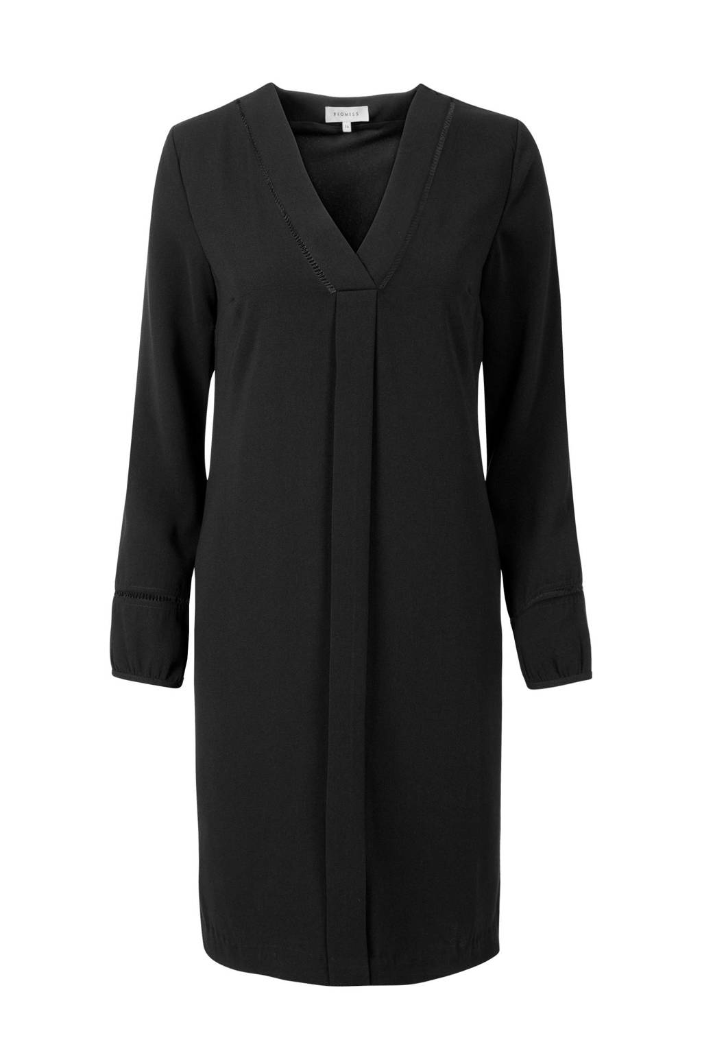 Promiss jurk zwart, Zwart