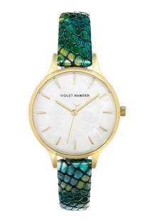 Violet Hamden horloge Day & Night groen - VH01026