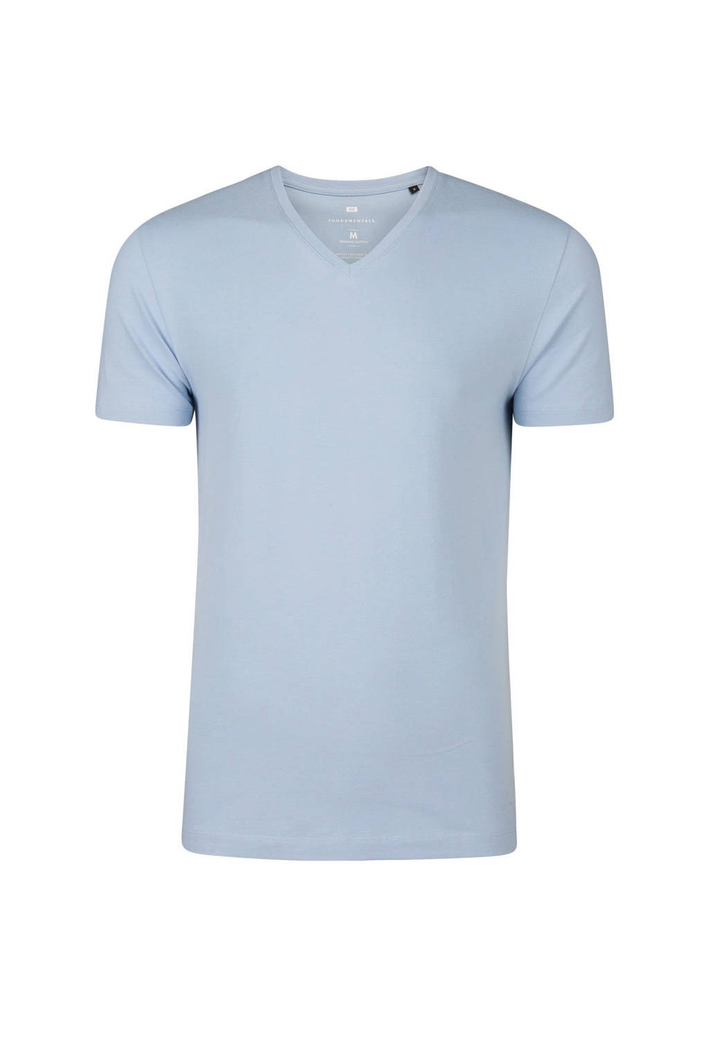 WE Fashion slim fit T-shirt, Blauw