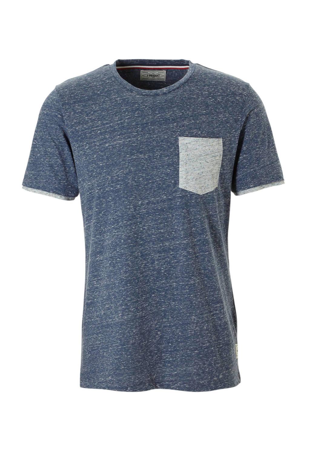 PRODUKT T-shirt, Blauw