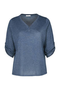 Paprika T-shirt blauw
