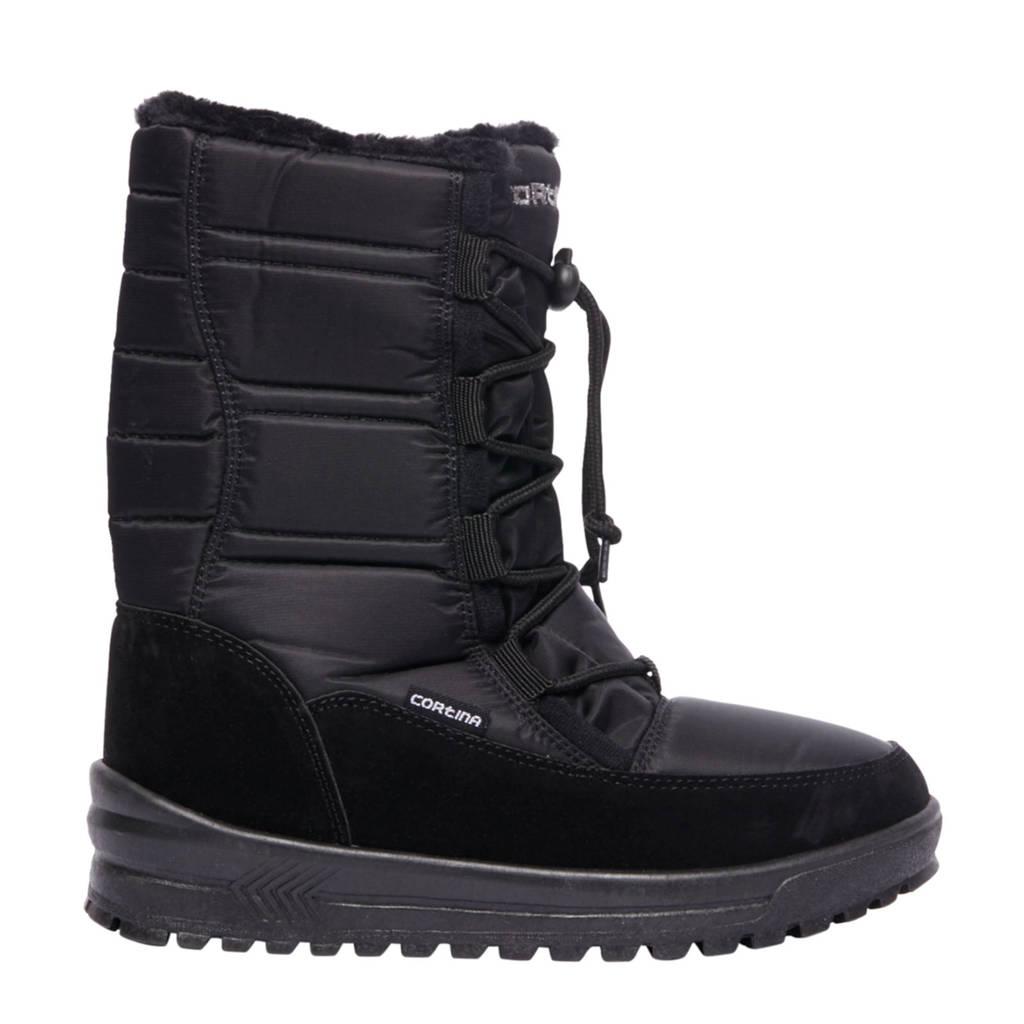 vanHaren Cortina snowboots zwart, Zwart