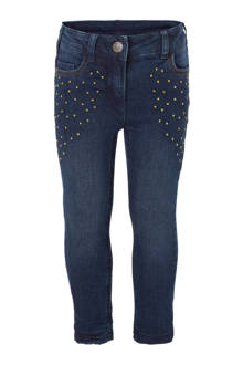 Palomino skinny fit thermo jeans donkerblauw