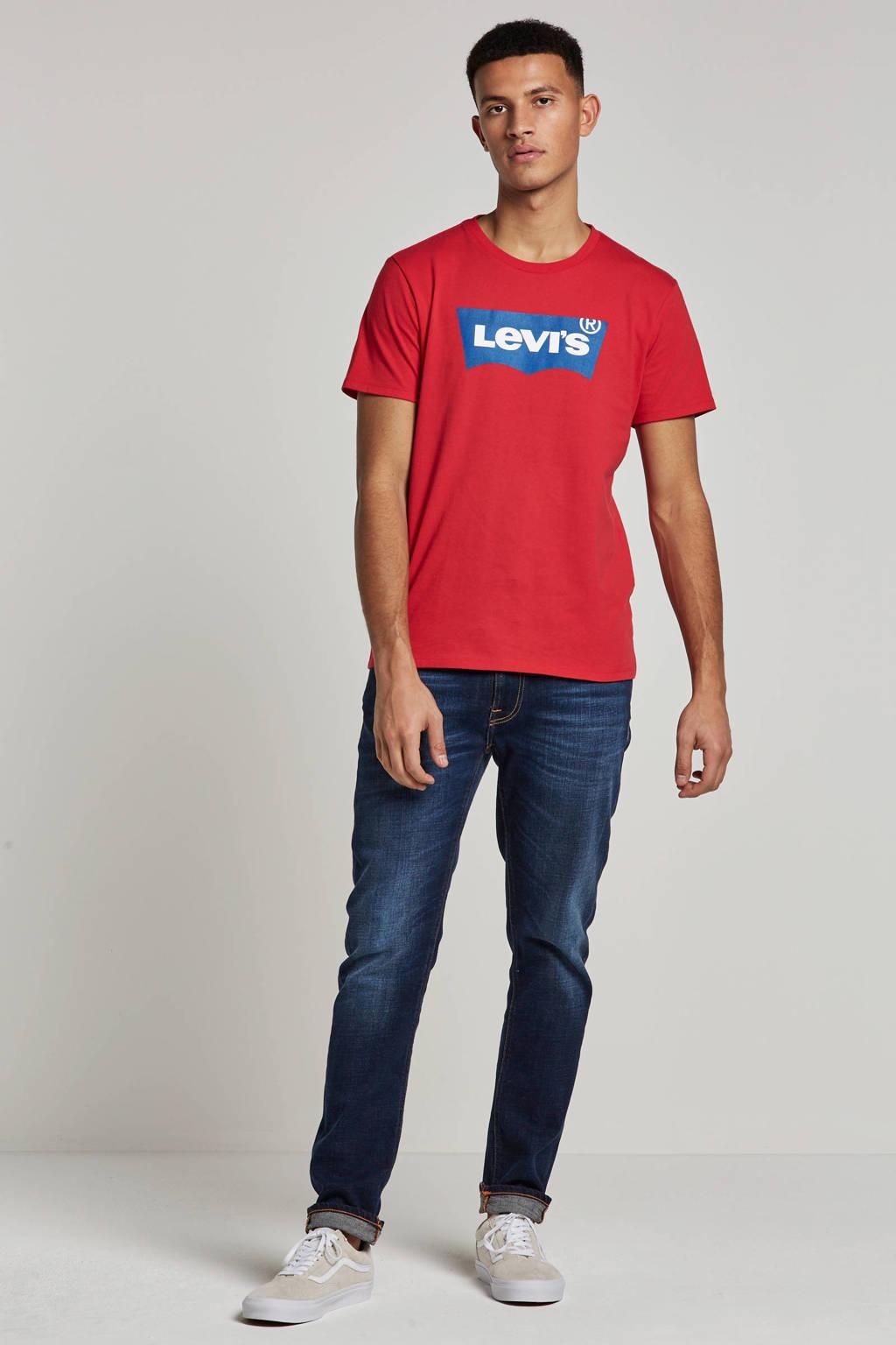 Levi's T-shirt, Rood