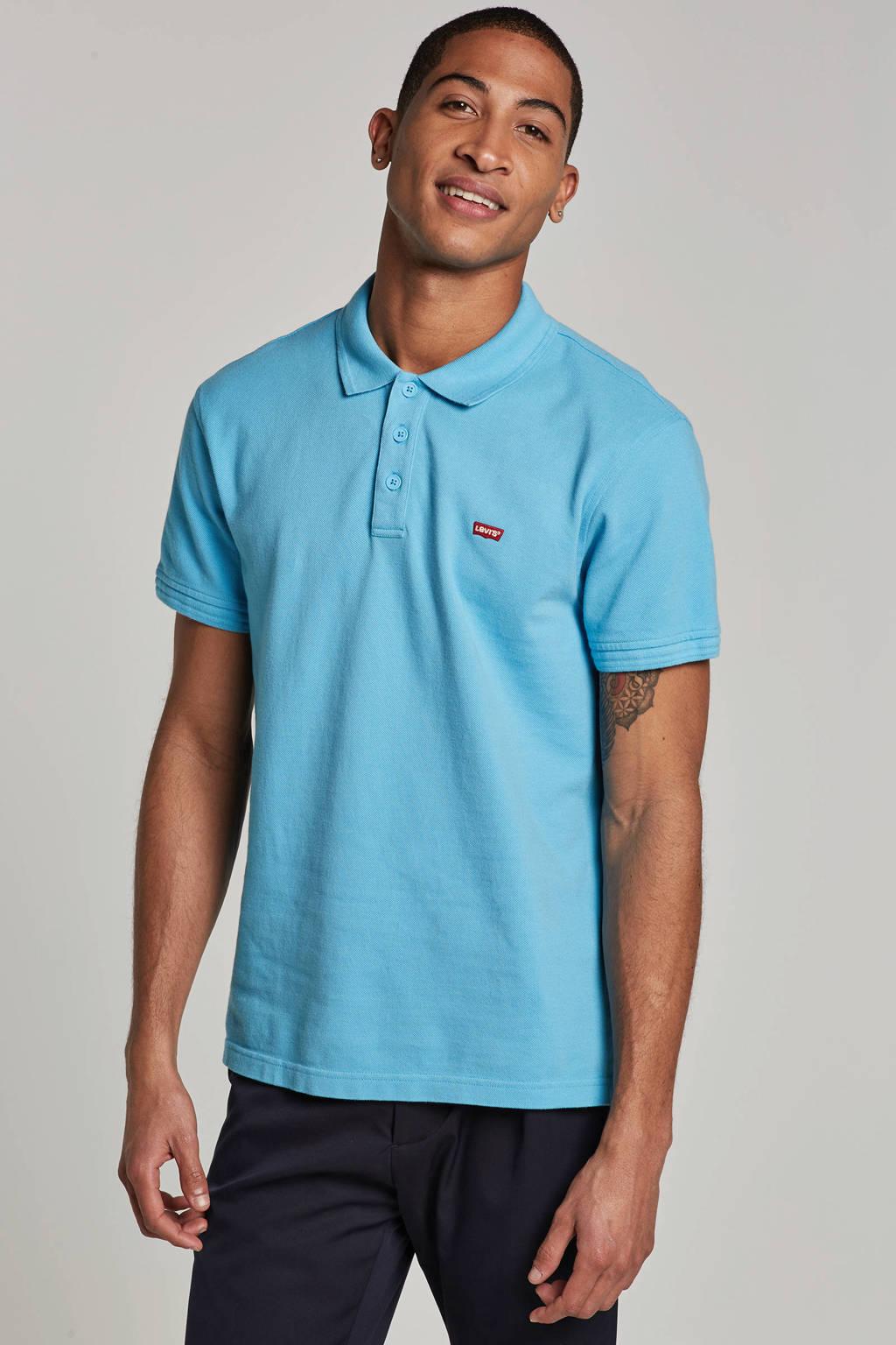 Levi's regular fit polo, Blauw