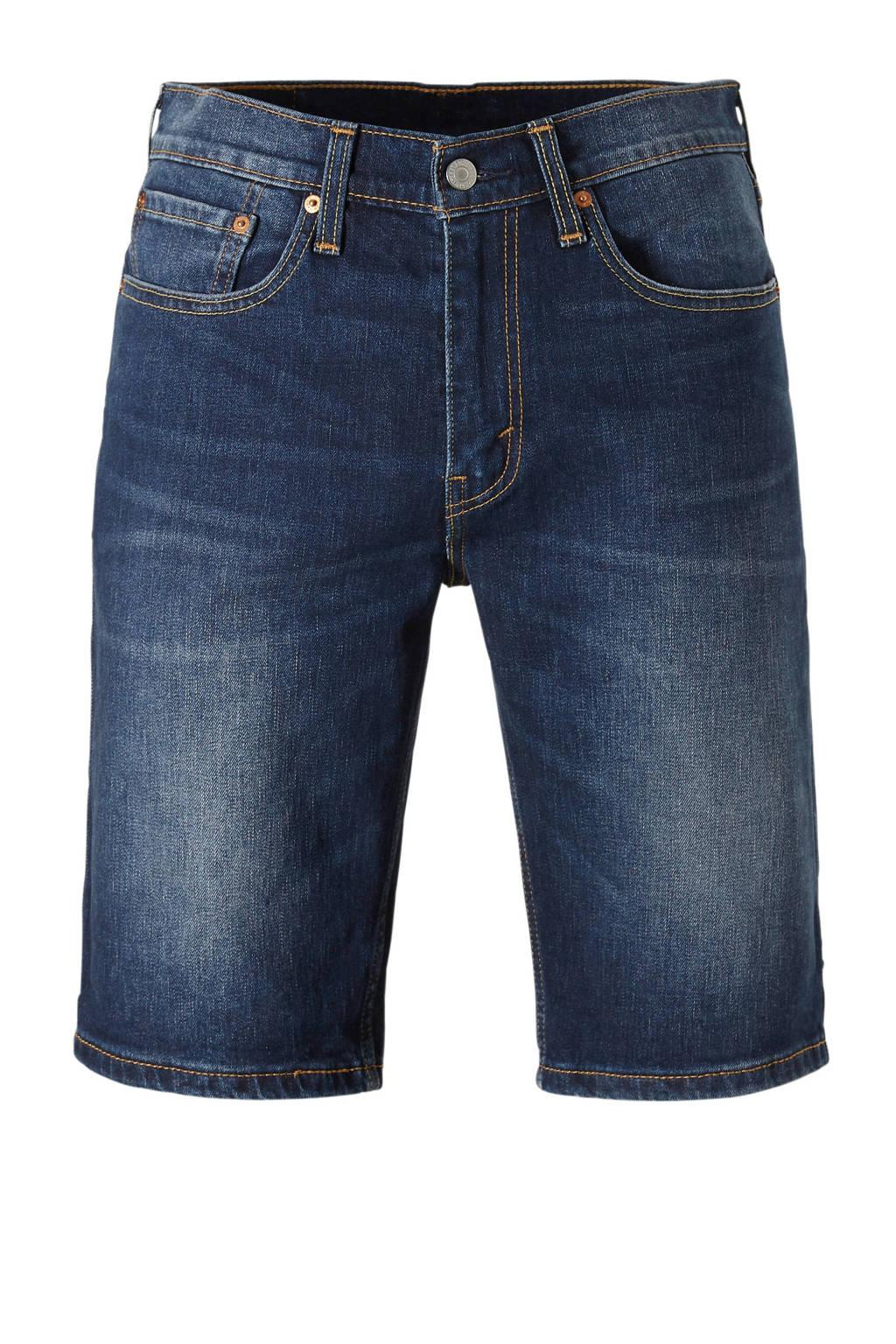Levi's jeans short slim fit 502, Dark denim