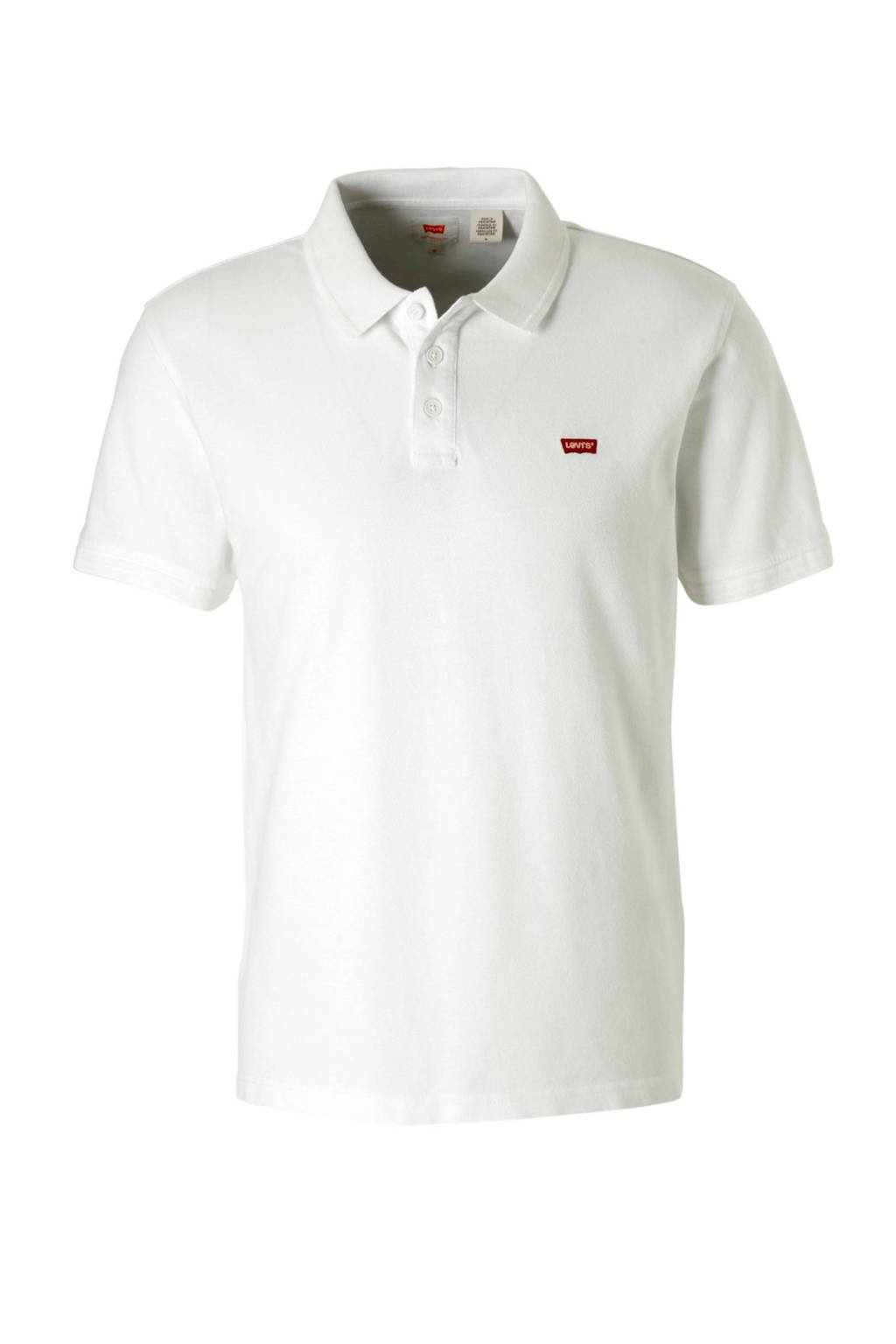 Levi's regular fit polo, Wit