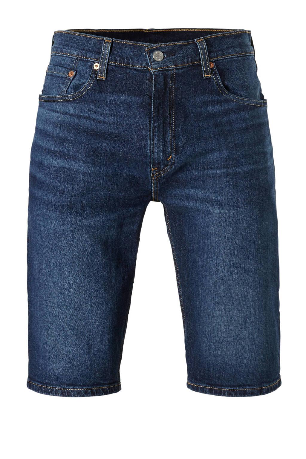 Levi's slim fit jeans short, Dark denim