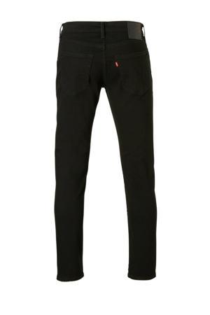 502 taper regular fit jeans zwart
