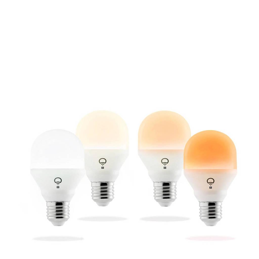 LIFX 4 stuks smart lamp, Wit