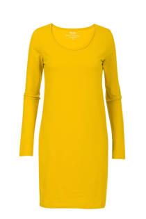 Miss Etam Lang lang T-shirt geel