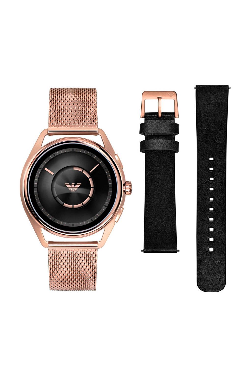 Emporio Armani Matteo Gen 4 smartwatch ART9005, Roségoudkleurig