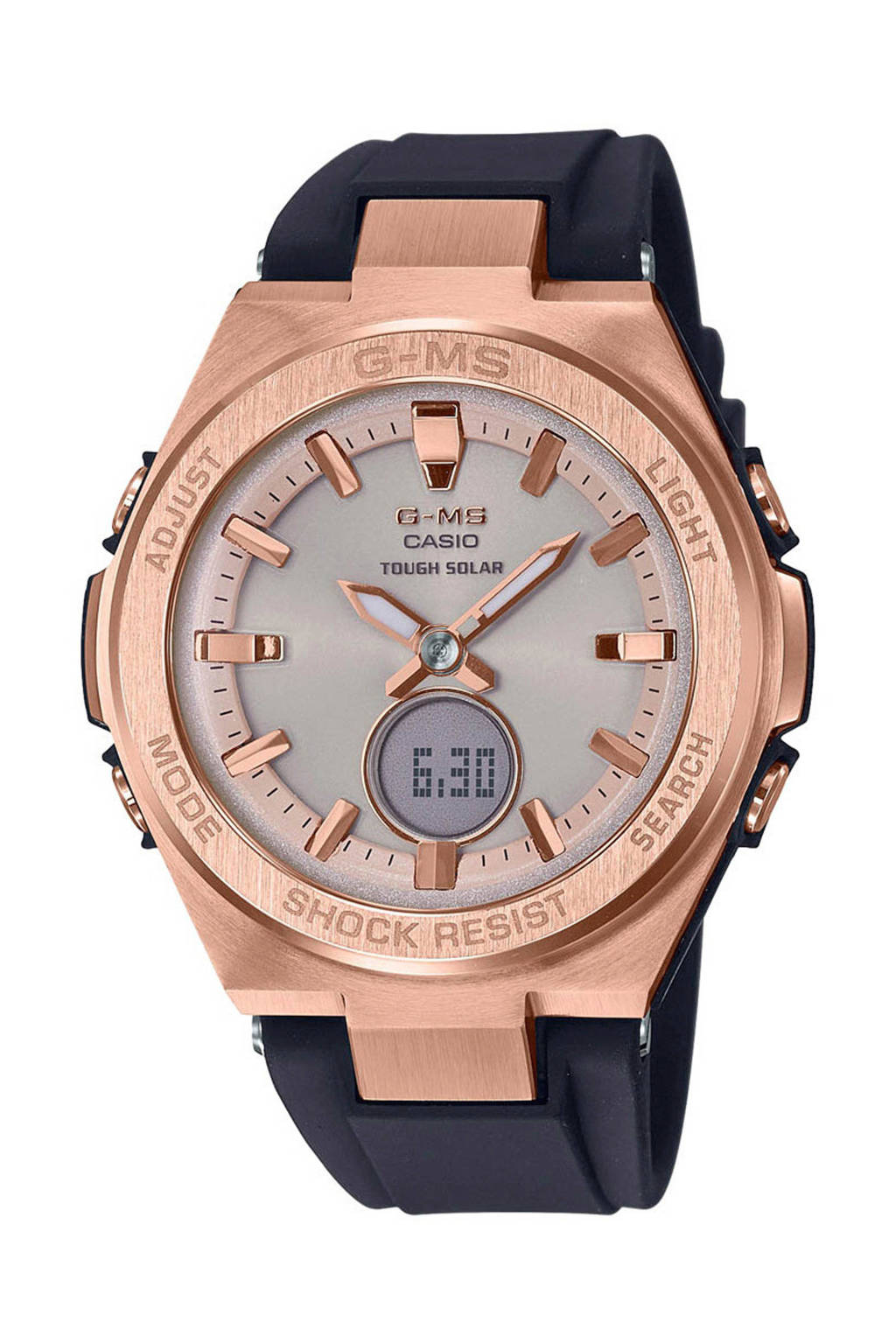 Baby-G horloge  horloge MSG-S200G-1AER., Zwart