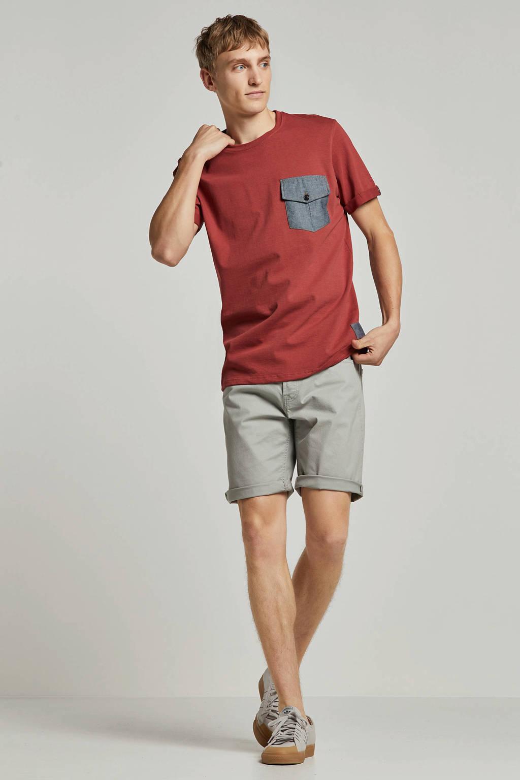 Redefined Rebel T-shirt rood, Rood