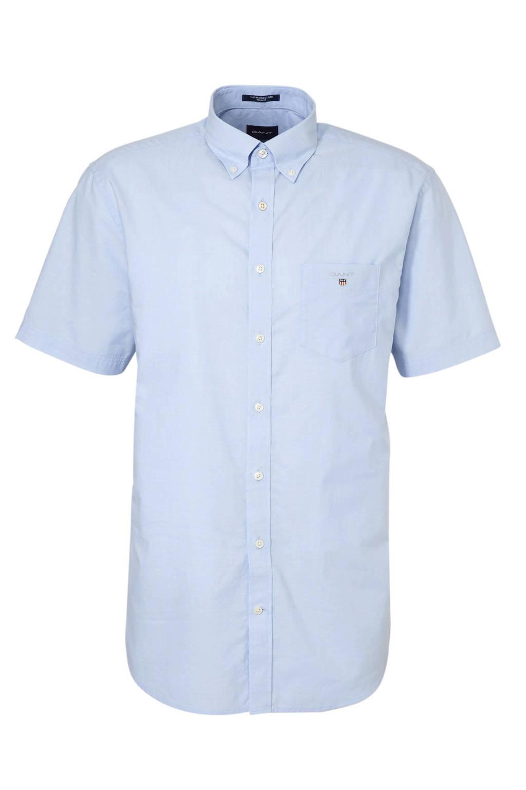 GANT regular fit overhemd blauw, Blauw