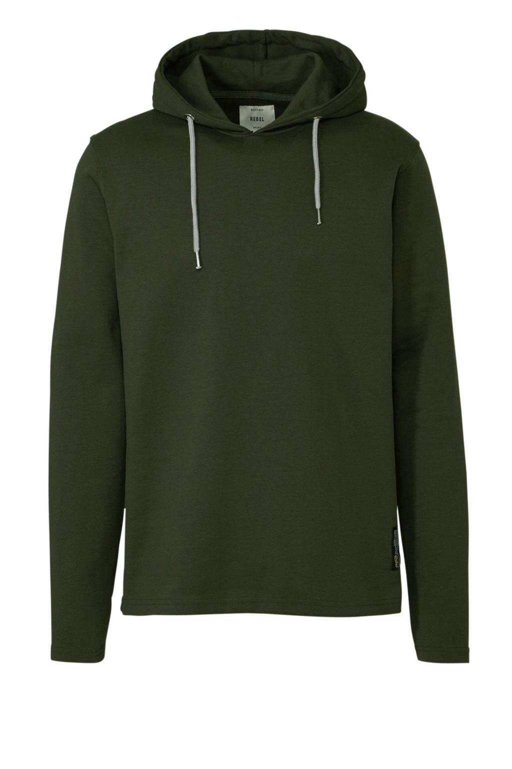Redefined Rebel hoodie groen, Groen