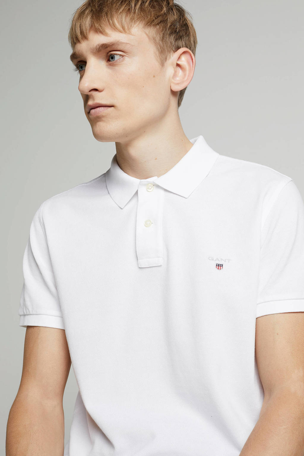 GANT regular fit polo, Wit