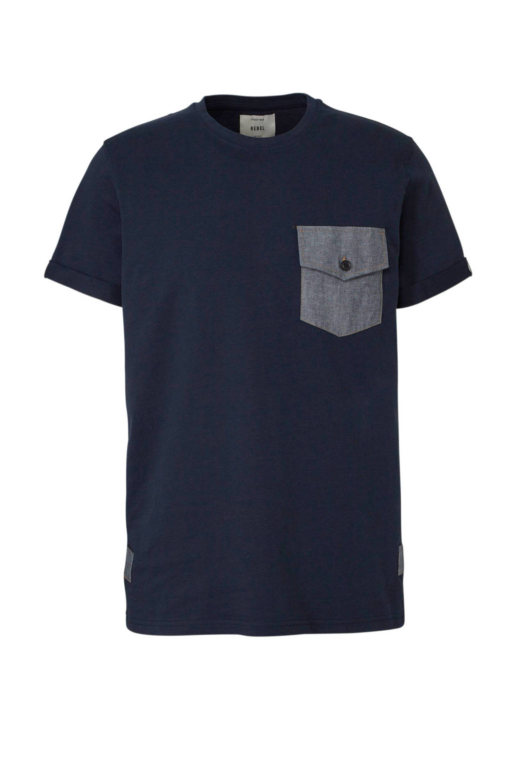 Redefined Rebel T-shirt marine, Marine